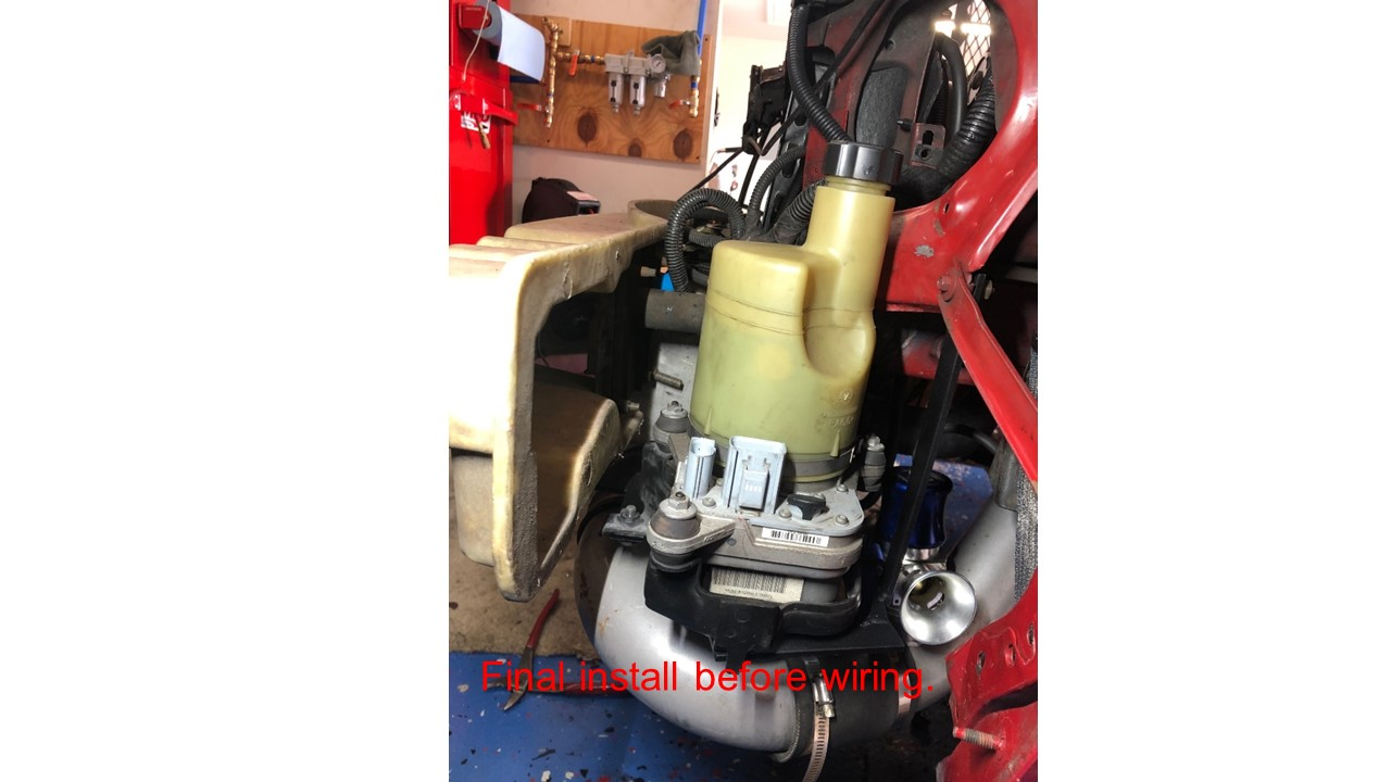 [DIAGRAM_5LK]  Volvo Electric power steering conversion (Full write up) | Ford Mustang  Forums | Volvo Power Steering Pump Wiring Diagram |  | Corral.net