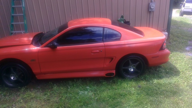 For Sale 94 98 Svo Style Side Exhaust Skirts Borla Side Exhaust Ford Mustang Forums