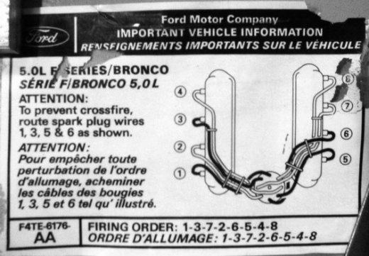spark plug wires and how they are routed questions | ford mustang forums  corral.net
