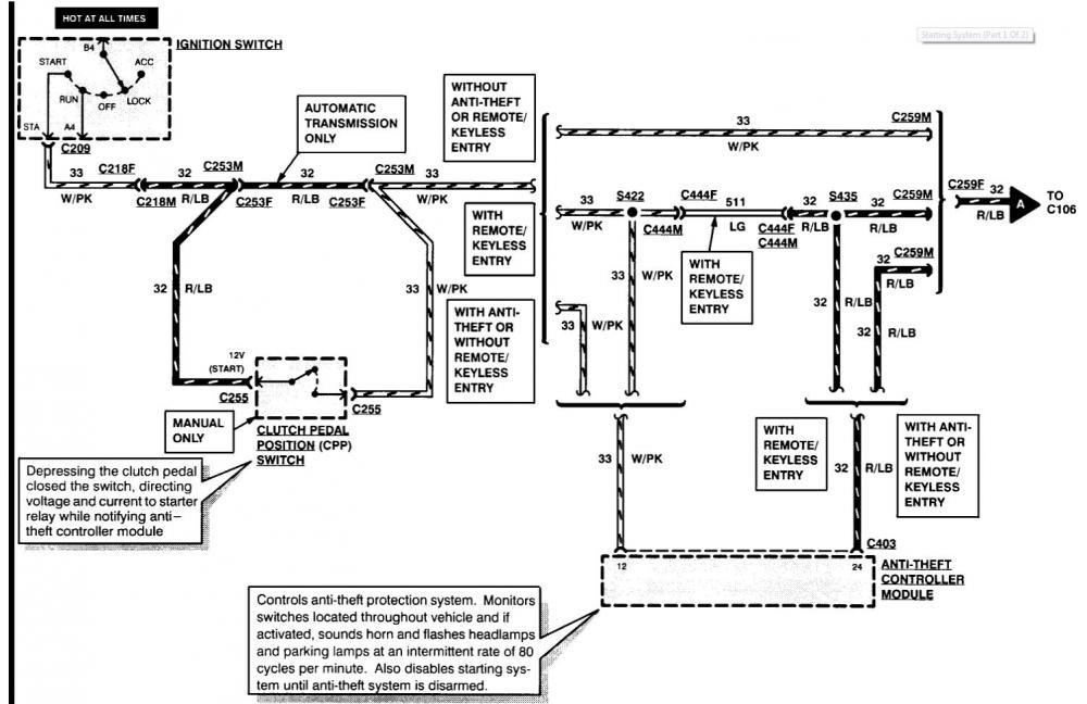33 Mustang Starter Solenoid Wiring Diagram