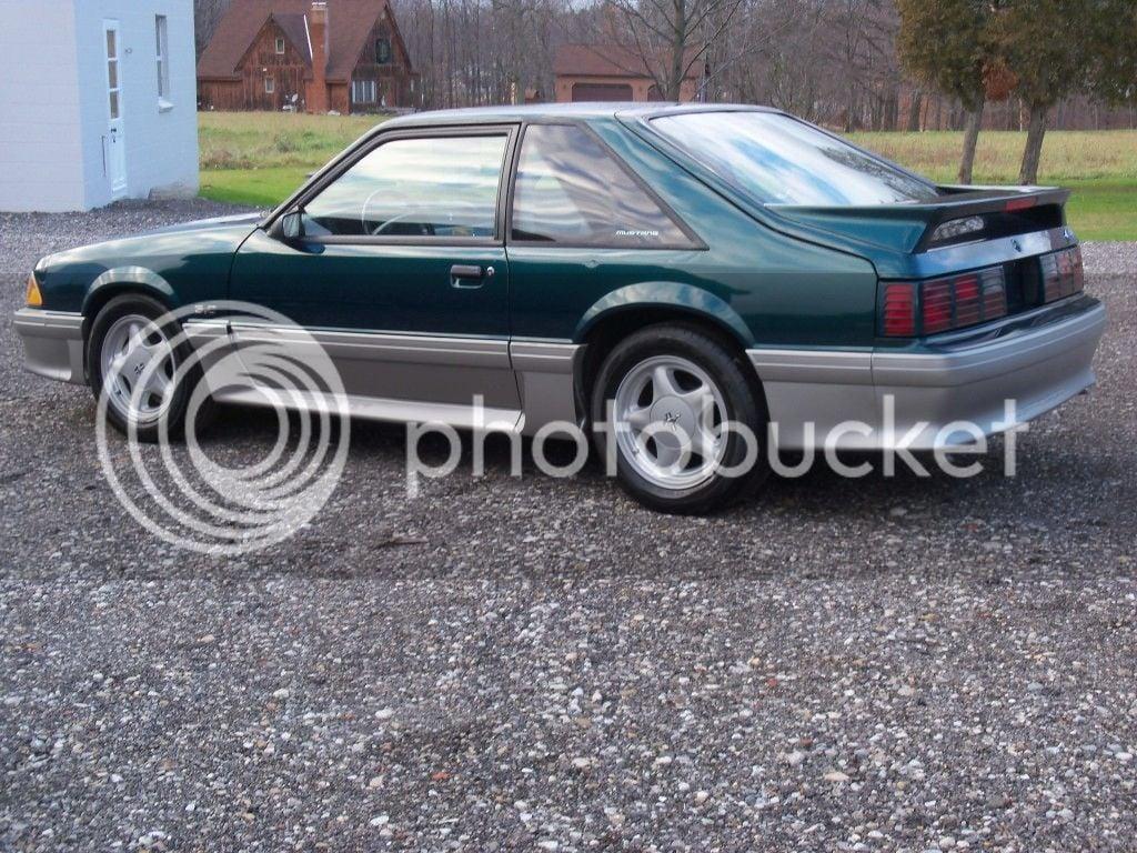 91 Mustang Gt >> For Sale 1991 Mustang Gt 5 0l 5 Spd Deep Emerald Green