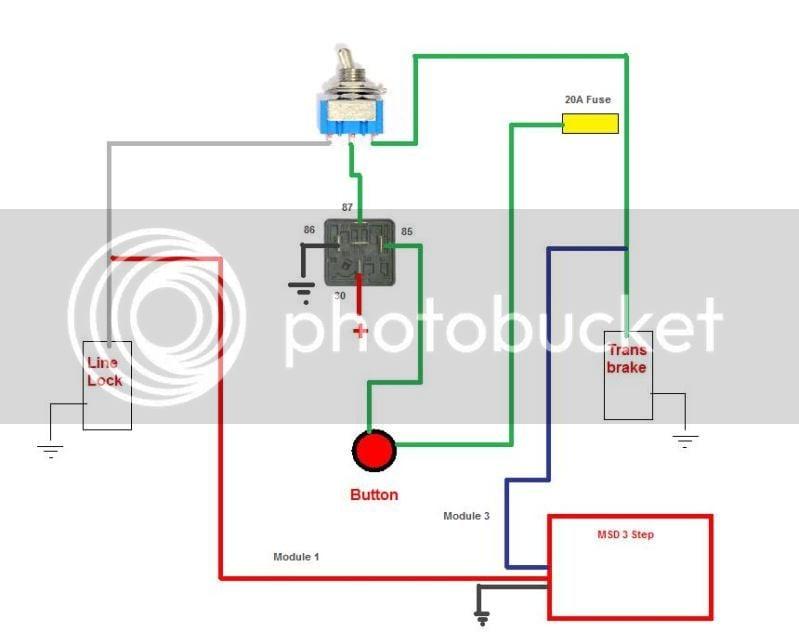 Transbrake  Linelock Wiring   Is This Diagram Good